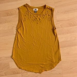 Yellow Old Navy Tank